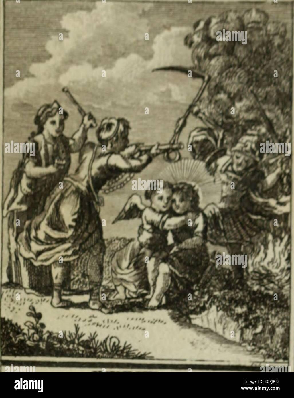. L'ame amante de son Dieu, représentée dans les emblemes de Hermannus Hugo, et dans ceux d'Othon Vaenius sur l'amour divin. Avec des figures nouvelles accompagnées de vers qui en font l'application aux dispositions les plus essentielles de la vie intérieure . yjL^^ Il ç^À/<^// /i^/m Aj/nrt cn/or^^n. xxxvm . /. <* Hmo/^^ /eairtùità. Stock Photo