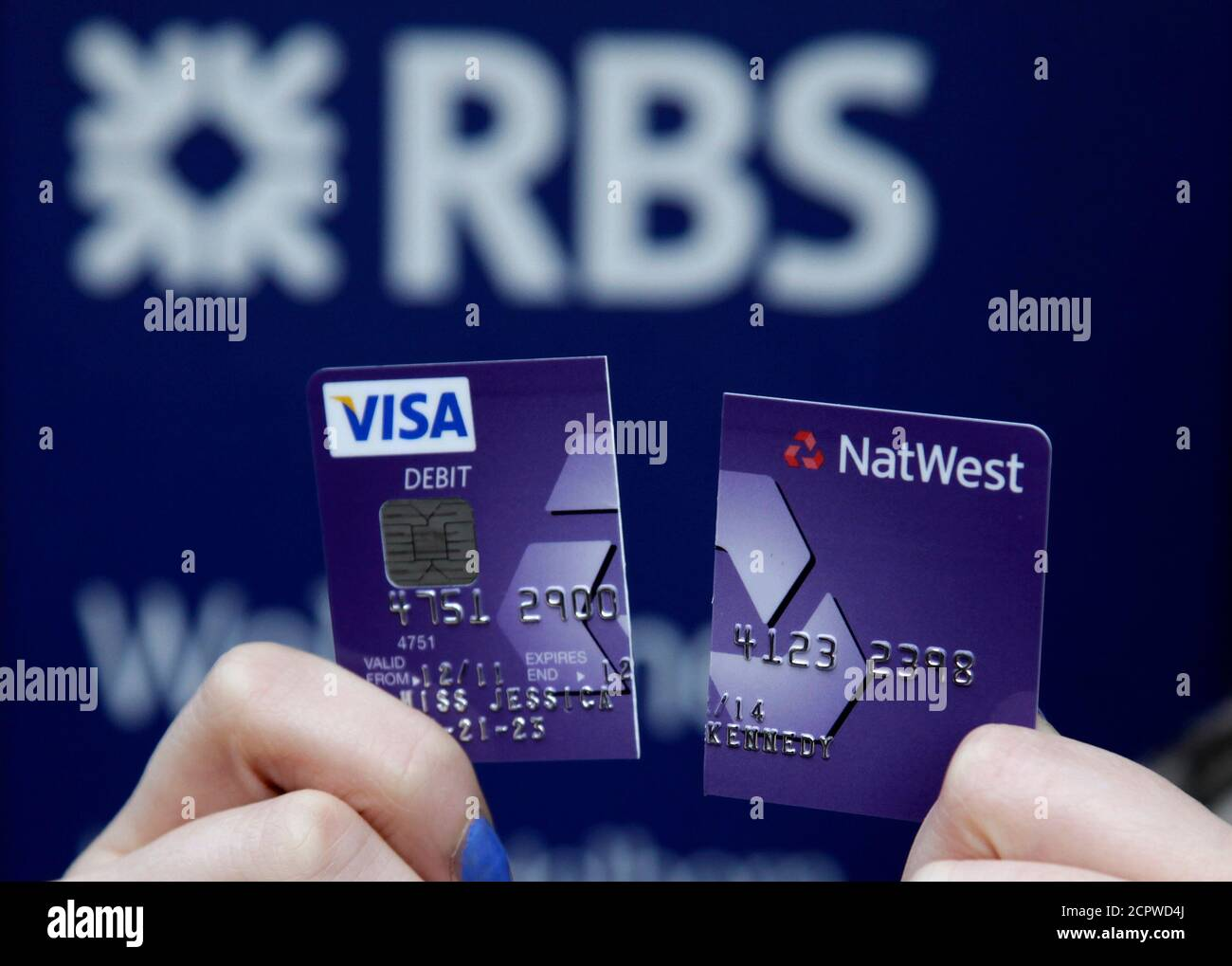 Bank Of Scotland Debit Card High Resolution Stock Photography And Images Alamy