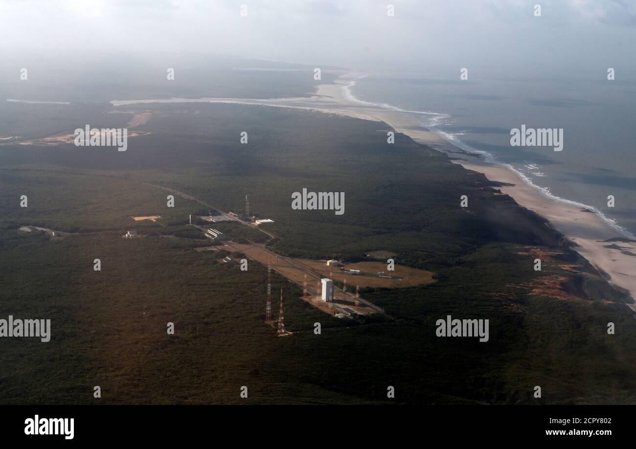 A general view of Alcantara space center in Alcantara, Maranhao State, Brazil September 14, 2018. REUTERS/Adriano Machado Stock Photo