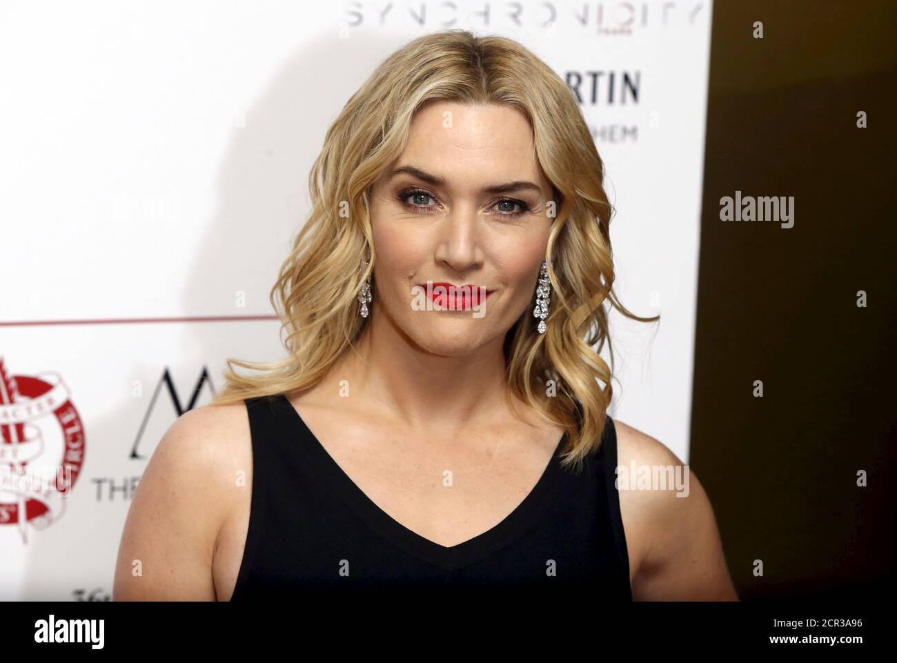 British actress Kate Winslet poses for photographers at the 36th London Critics' Circle Film Awards in London, Britain January 17, 2016. REUTERS/Neil Hall Stock Photo
