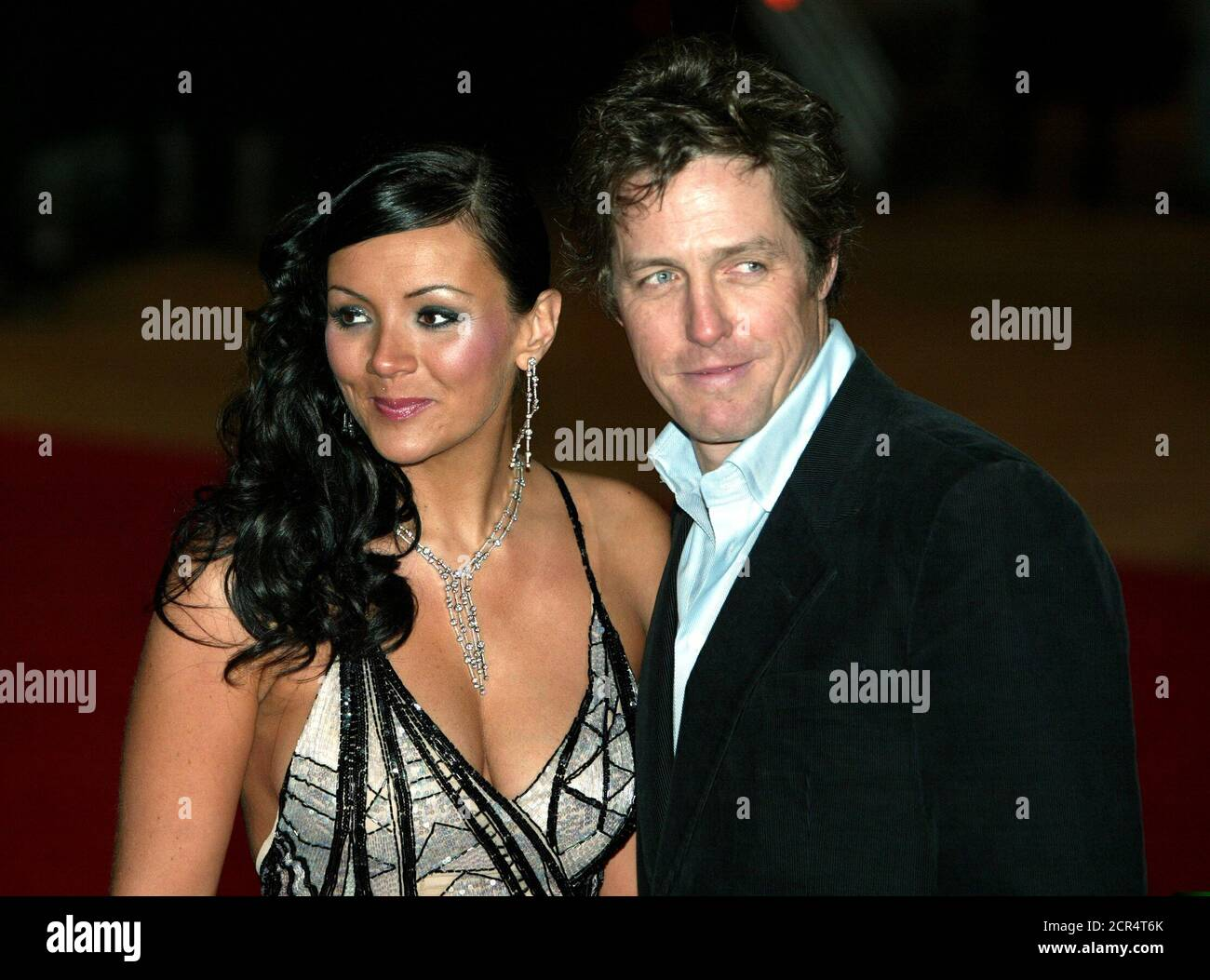 Martine Mccutcheon Hugh Grant Arrive High Resolution Stock Photography And Images Alamy