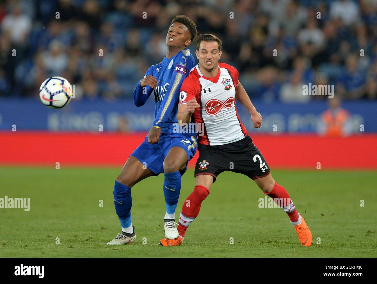 Leicester City Vs Southampton High Resolution Stock Photography And Images Alamy