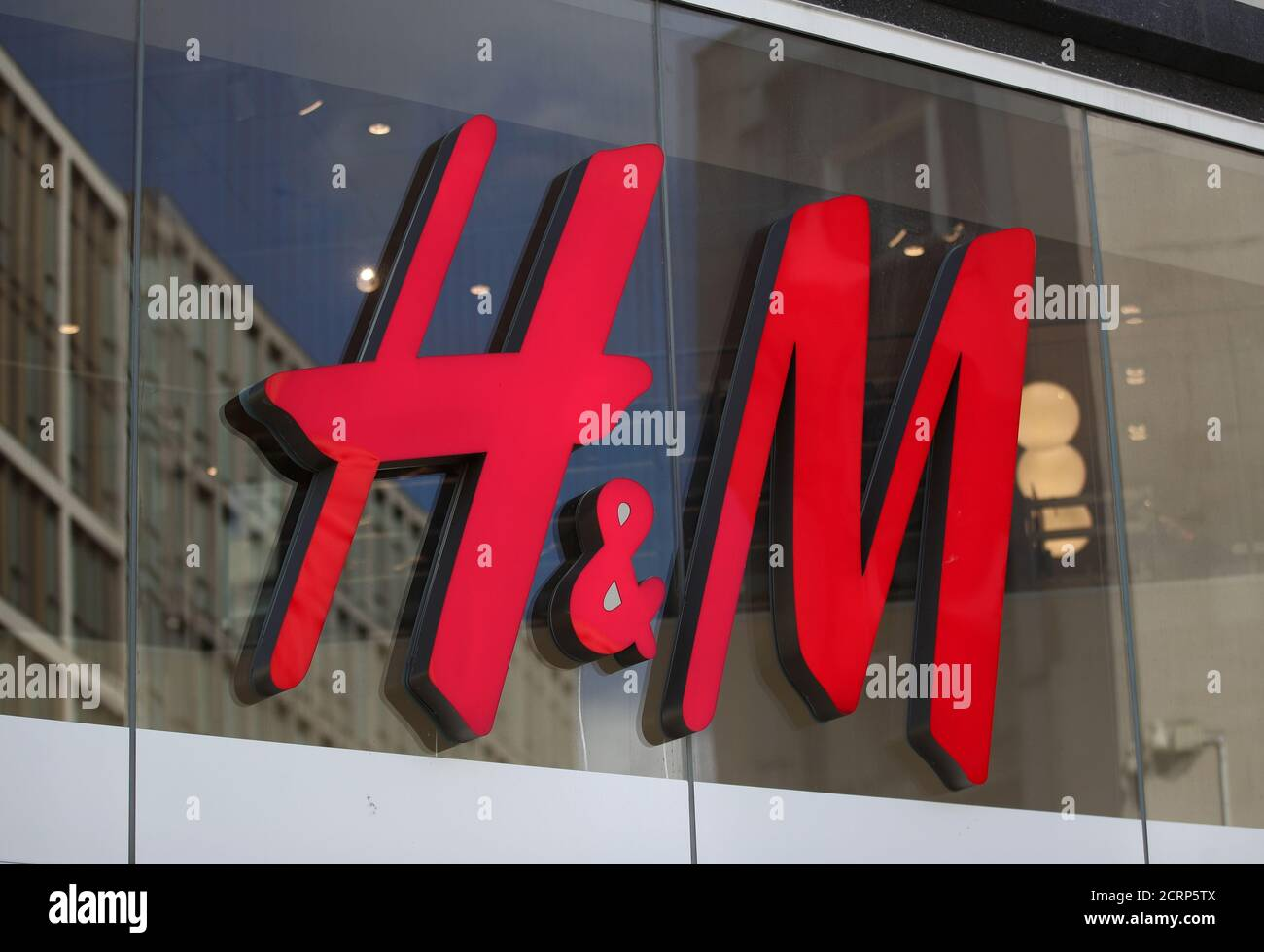 H M Clothes Shop In Sheffield South Yorkhire Photo Credit Should Read Tim Goode Pa Wire Stock Photo Alamy