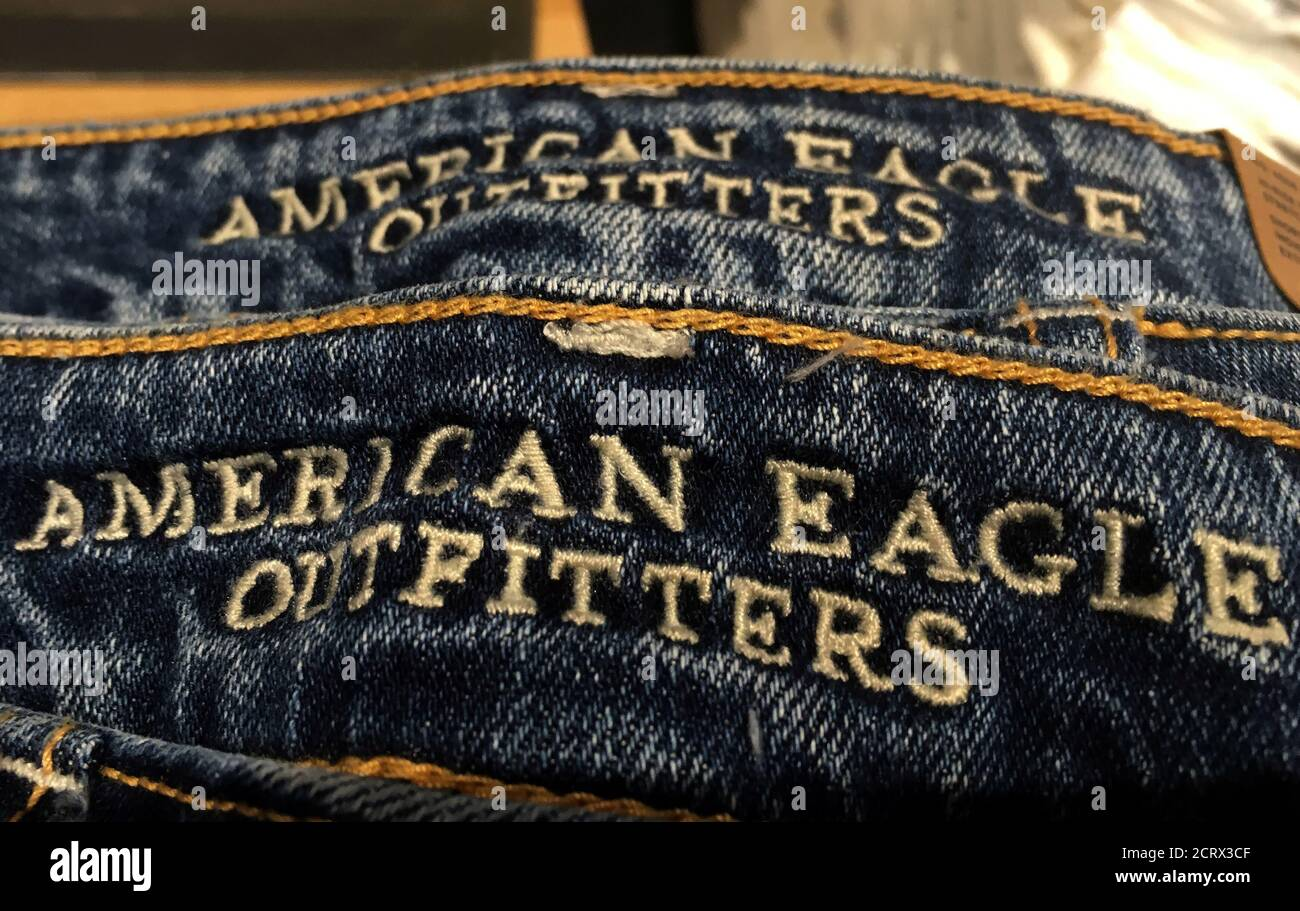 American Eagle Outfitters Jeans High Resolution Stock Photography And Images Alamy