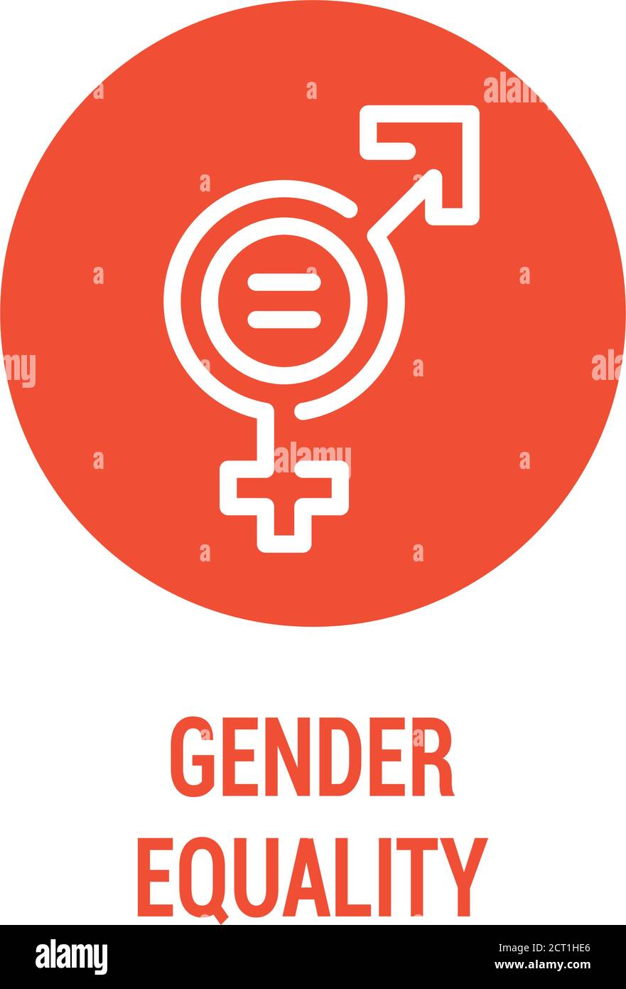 gender balance high resolution stock photography and images alamy https www alamy com gender equality color icon womens rights corporate social responsibility sustainable development goals sdg color sign pictogram for ad web image376205150 html