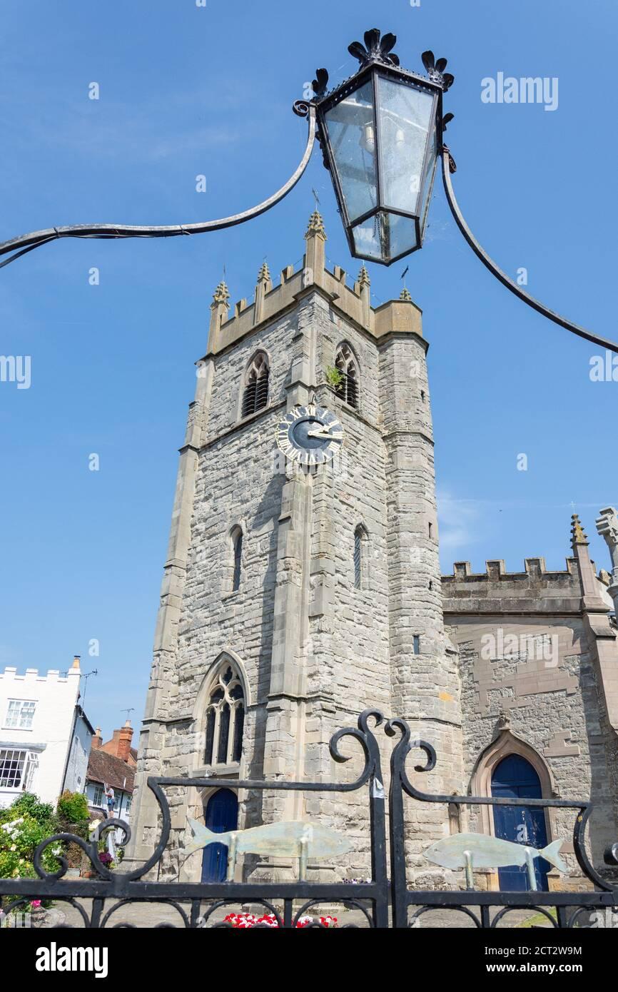 St Nicholas Parish Church, Church Street, Alcester, Warwickshire, England, United Kingdom Stock Photo