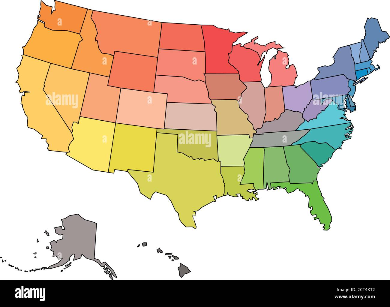 Picture of: American Frontier Map High Resolution Stock Photography And Images Alamy