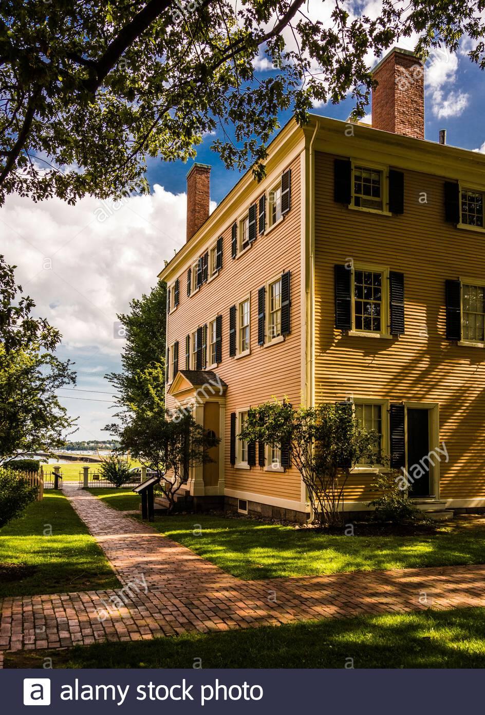 Hawkes House Salem Maritime National Historic Site   Salem, Massachusetts, USA Stock Photo