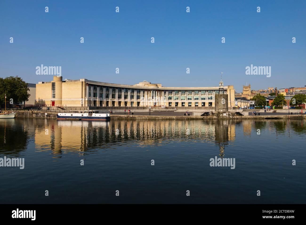Lloyds bank amphitheatre, Bristol, England. Sept 2020 Stock Photo