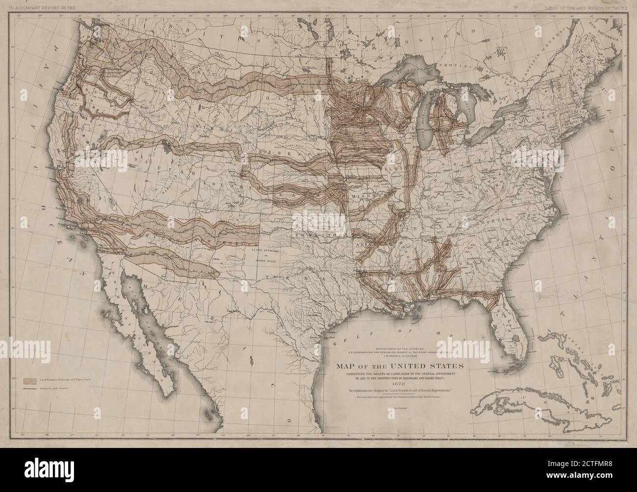 Picture of: Geographical Map Of United States High Resolution Stock Photography And Images Alamy