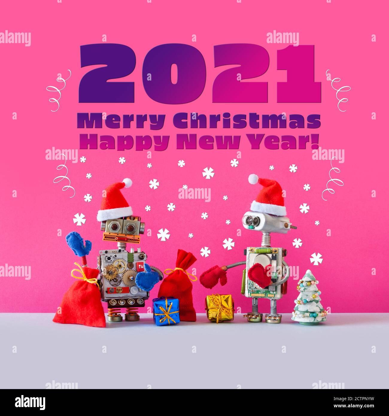 2021 Christmas Robot Christmas Robot High Resolution Stock Photography And Images Alamy