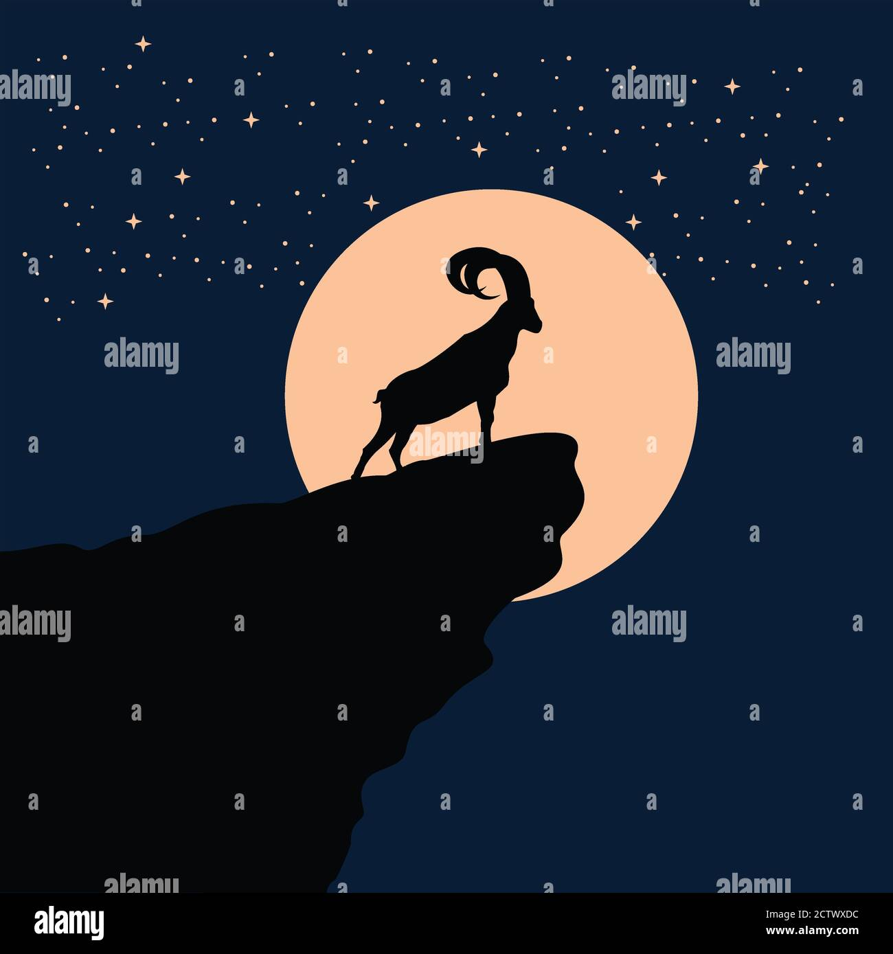 Lamb Silhouette High Resolution Stock Photography And Images Alamy