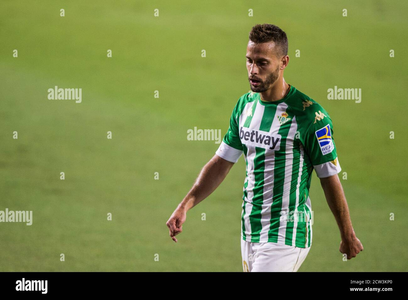 Sergio Canales of Real Betis during the Spanish championship La Liga  football match between Real Betis Balompie and Real Madrid on September 26,  2020 Stock Photo - Alamy