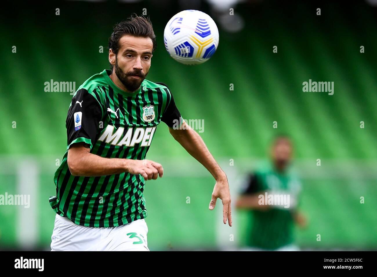 Cesena Italy 27th Sep 2020 Cesena Italy September 27 2020 Gian Marco Ferrari Of Us Sassuolo