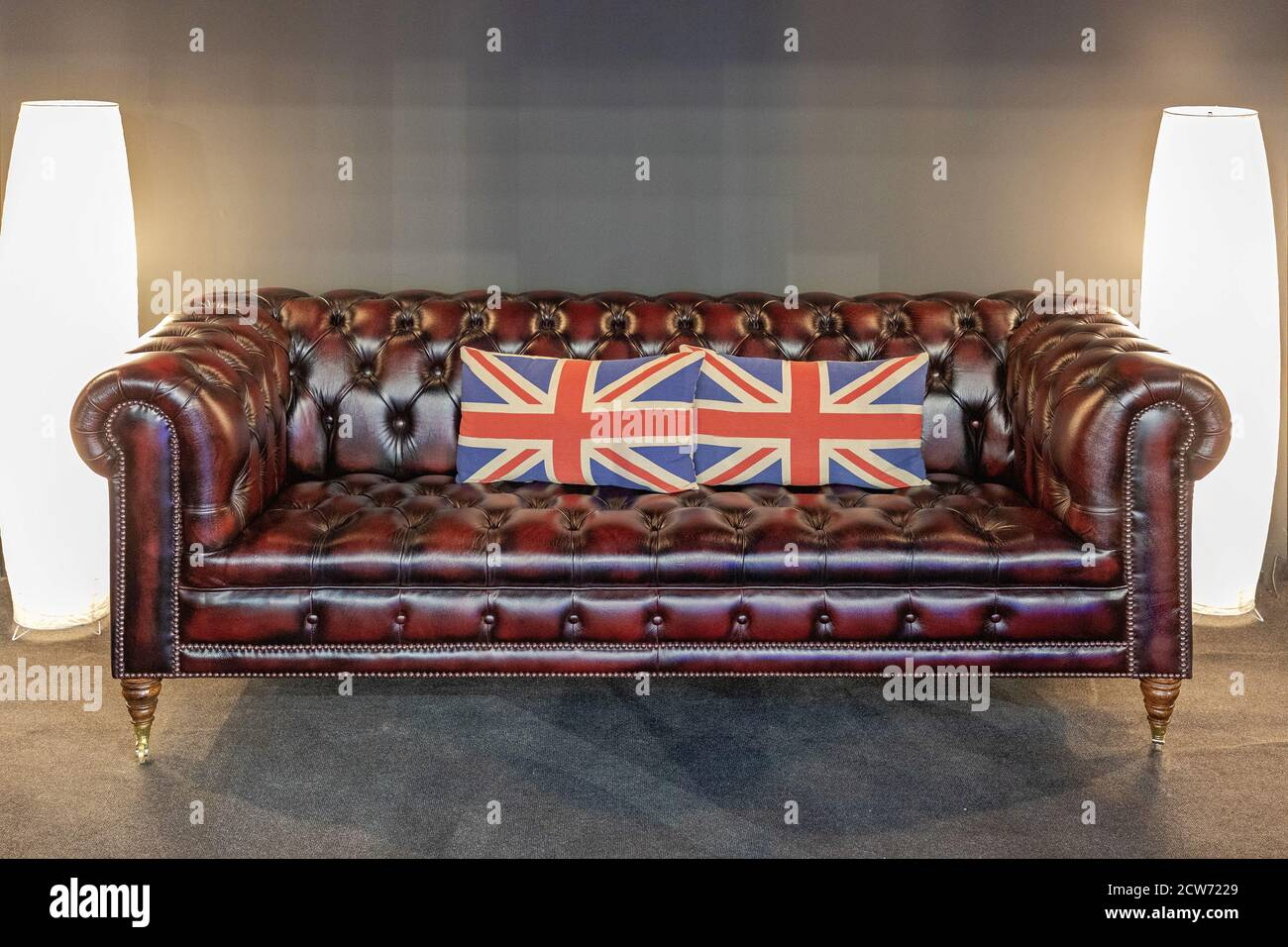 Chesterfield Sofa High Resolution Stock Photography And Images Alamy