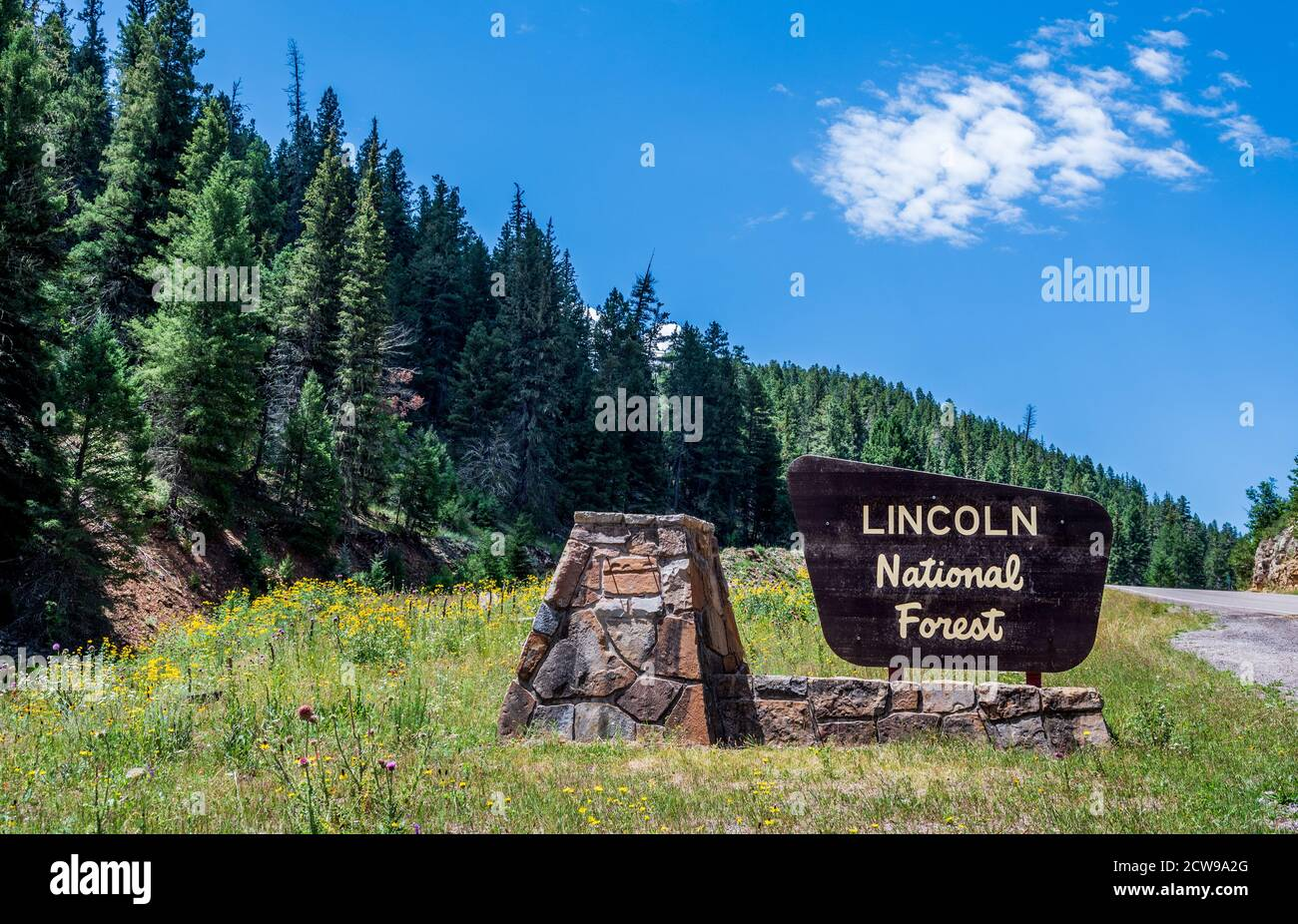 National Forest USFS New Mexico Lincoln National Forest US Forest Service Alamog