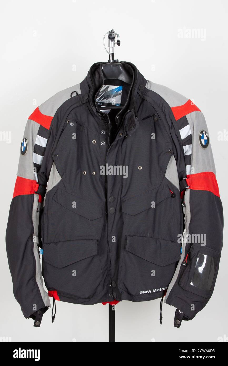 Bordeaux Aquitaine France 09 25 2020 Bmw Motorrad Black Red And Grey Jacket Of Motorbike Enduro Lifestyle Ready For Adventure Travel And Motor Stock Photo Alamy