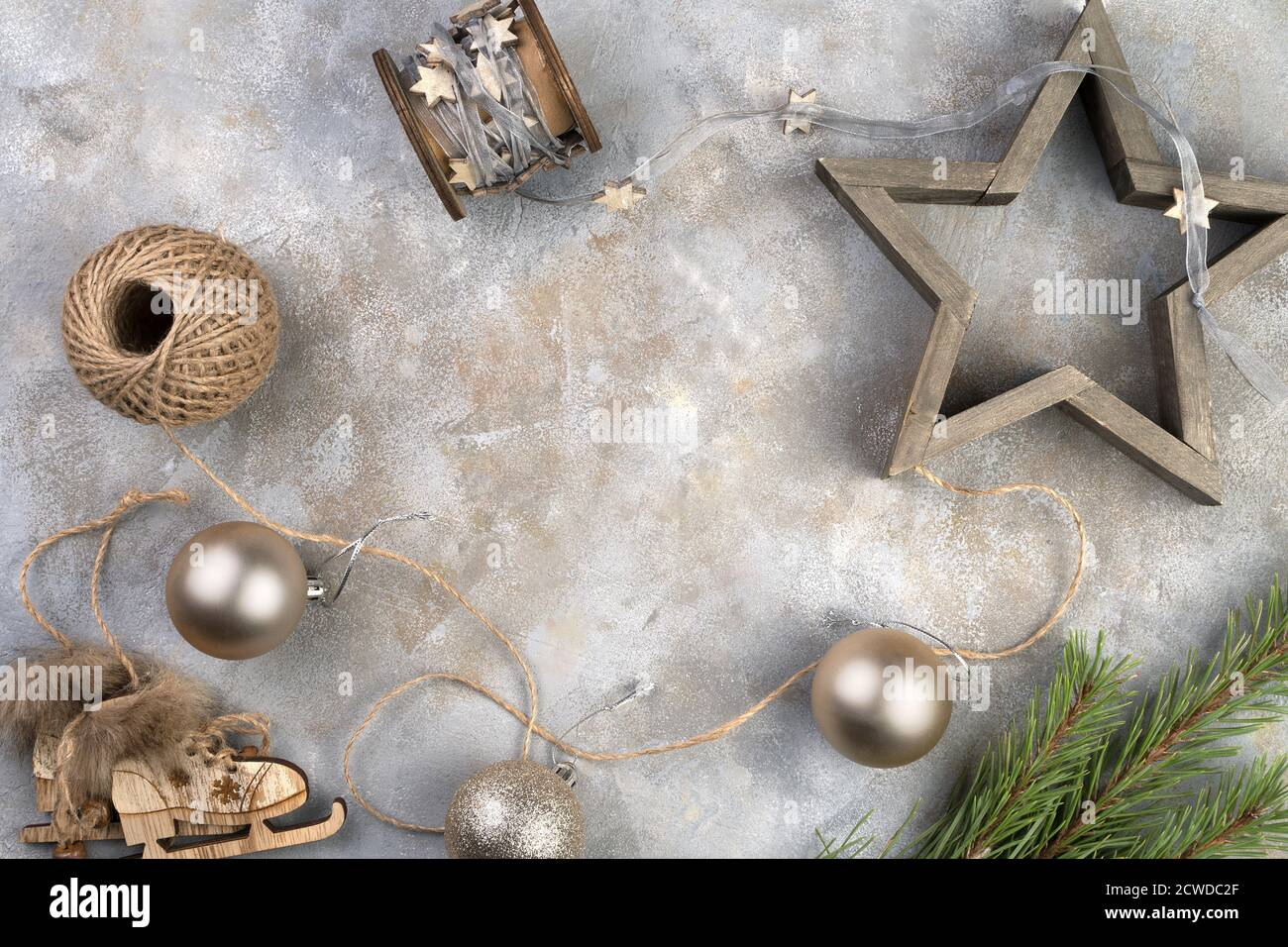 Merry Christmas 2021 Pictures Gray Merry Christmas And New Year 2021 Background With Holiday Toys Skates Star On A Gray Background Stock Photo Alamy
