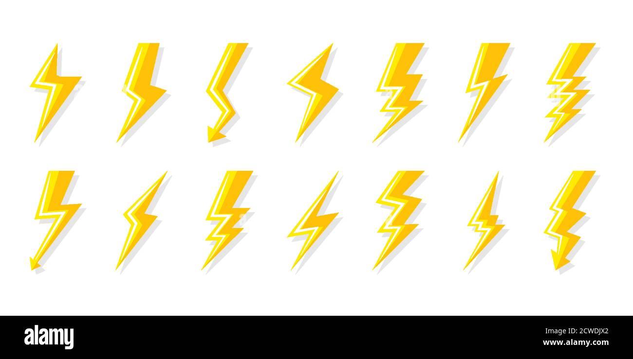 Page 10   Illustration Lightning Bolt Night Background High ...
