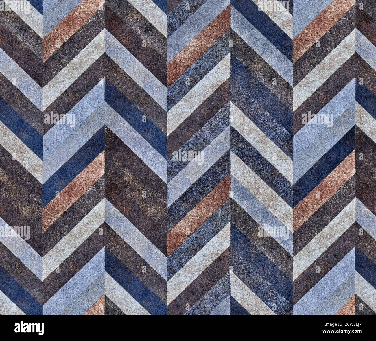 Seamless Abstract Background Of Modern Carpet With Soft Texture And Symmetric Geometric Ornament Stock Photo Alamy
