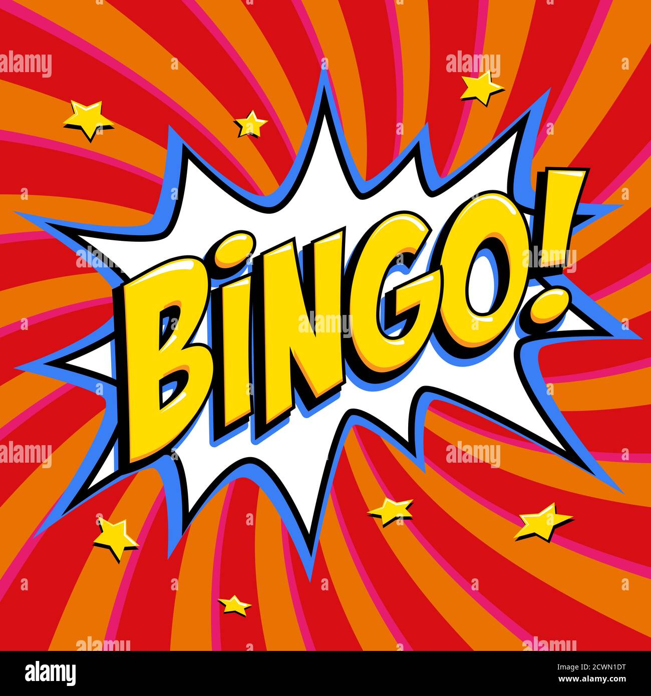 Bingo Poster High Resolution Stock Photography and Images   Alamy