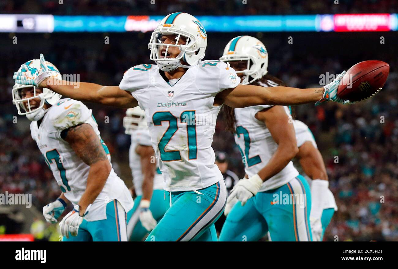 Brent Grimes Miami Dolphins Game Jersey