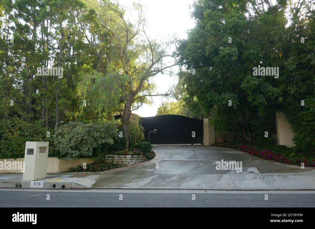 Beverly Hills California Usa 1st October 2020 A General View Of Atmosphere Of Producer David L