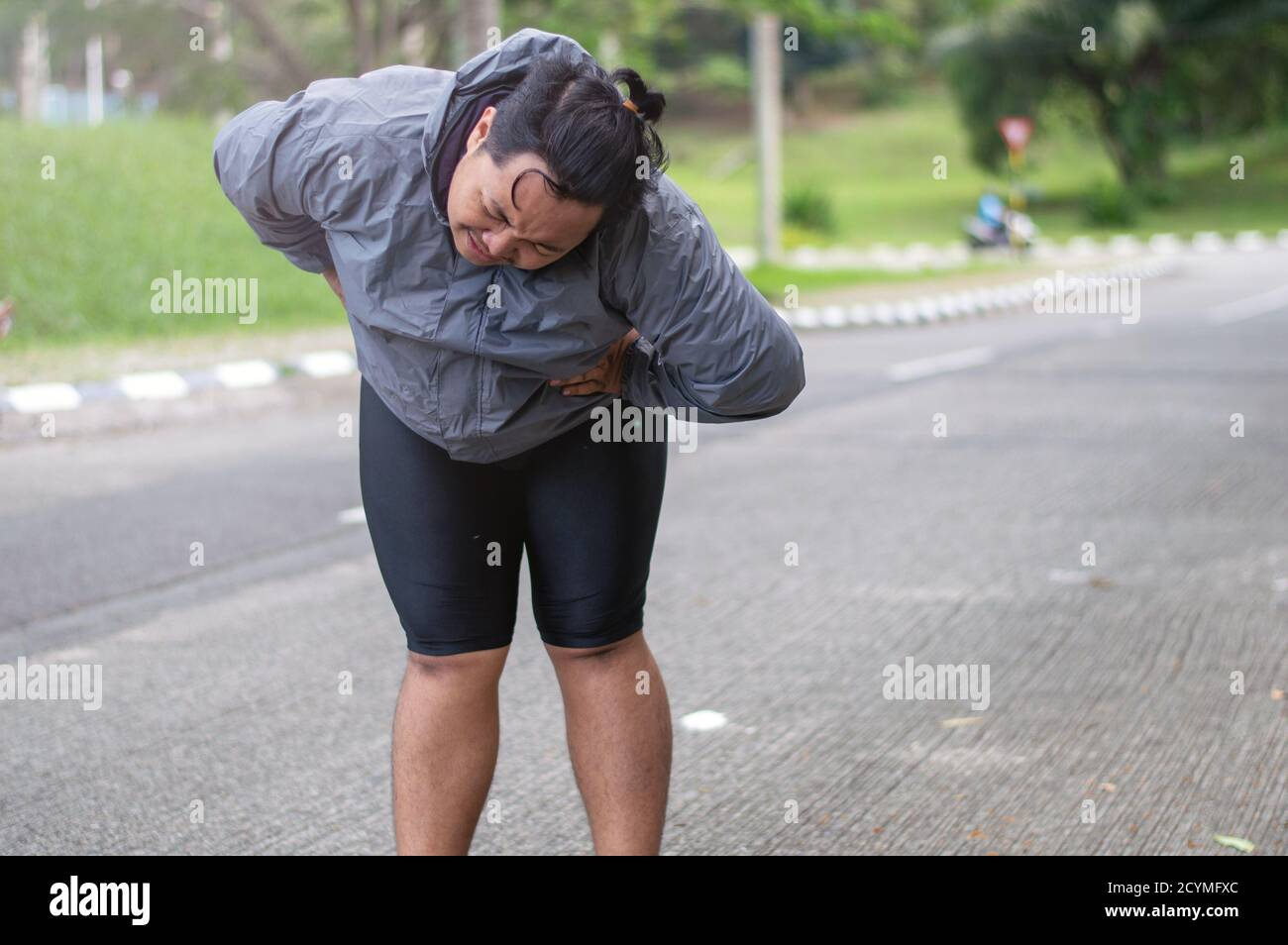 Page 6 Fat Man Running High Resolution Stock Photography And Images Alamy