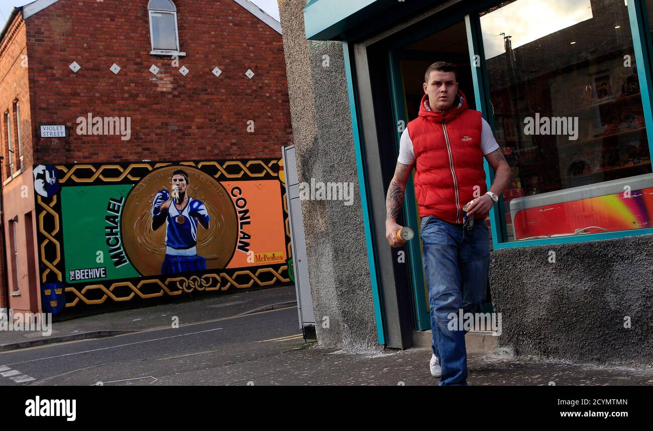 Irish Republican Wall Murals High Resolution Stock Photography And Images Alamy