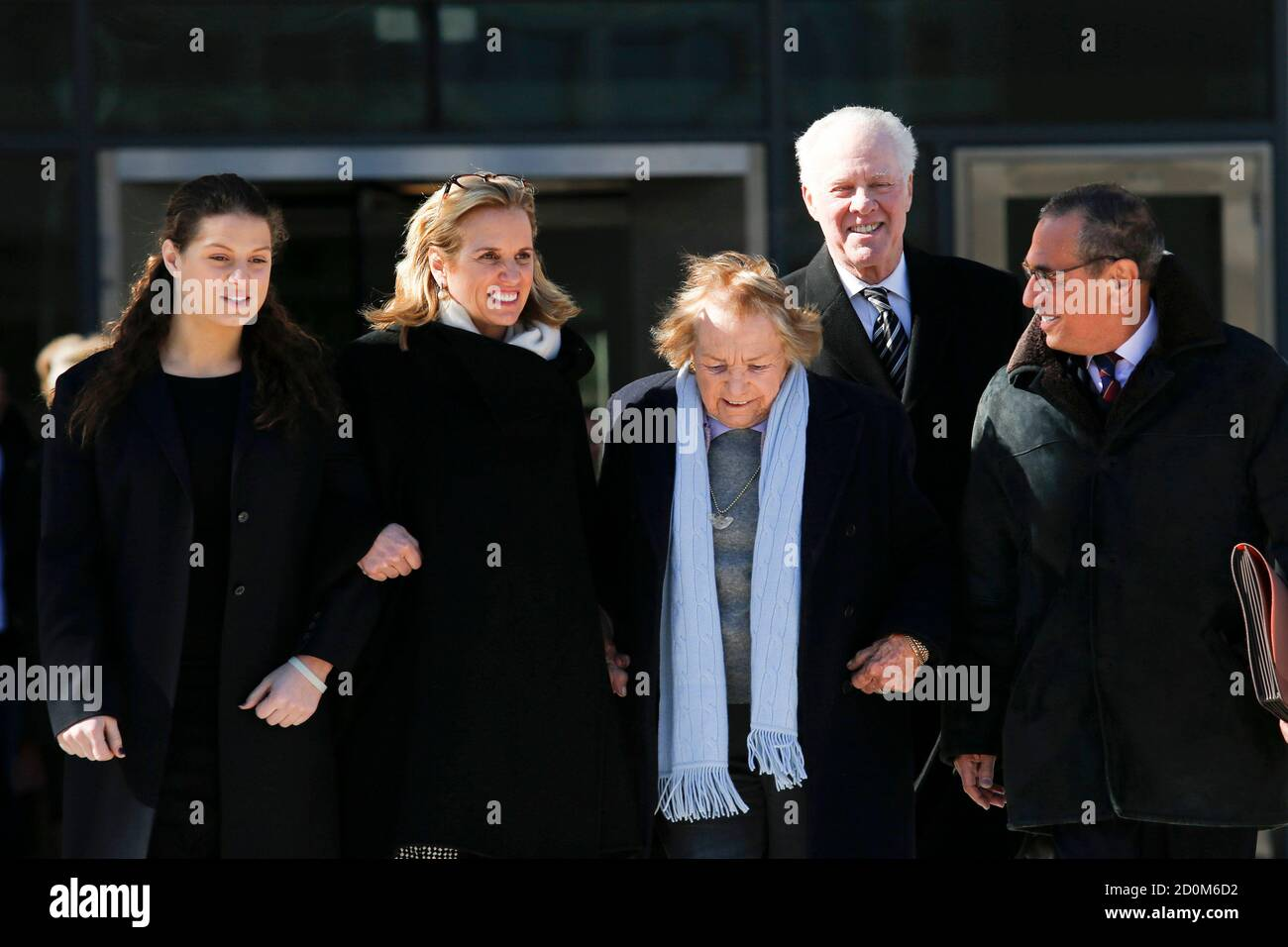 Kerry Kennedy And Ethel Kennedy High Resolution Stock Photography And Images Alamy