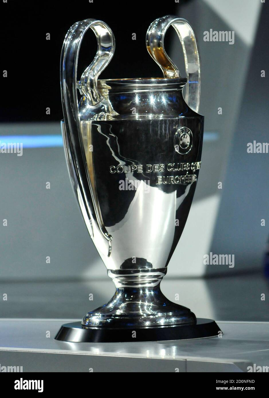 european cup winners high resolution stock photography and images alamy https www alamy com the uefa champions league trophy is seen during the champions league draw in monaco august 25 2011 holders barcelona have been drawn with seven times european cup winners ac milan plus outsiders bate borisov of belarus and viktoria plzen of czech republic in the group stage of the champions league reutersjean pierre amet monaco tags sport soccer image379101449 html
