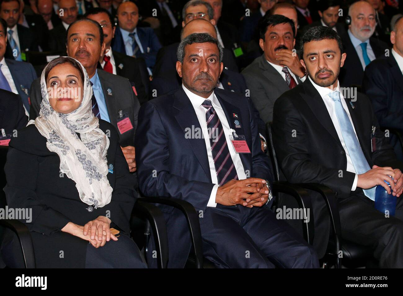 Lubna Al Qasimi L Minister International Cooperation And Development In The United Arab Emirates Sheikh Ahmed