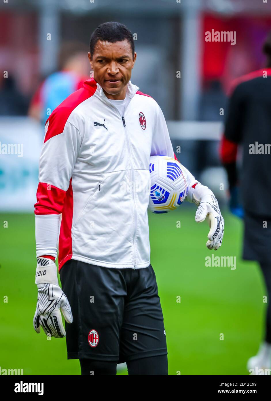 Nelson Dida Of Ac Milan During The Serie A 2020 21 Match Between Ac Milan Vs