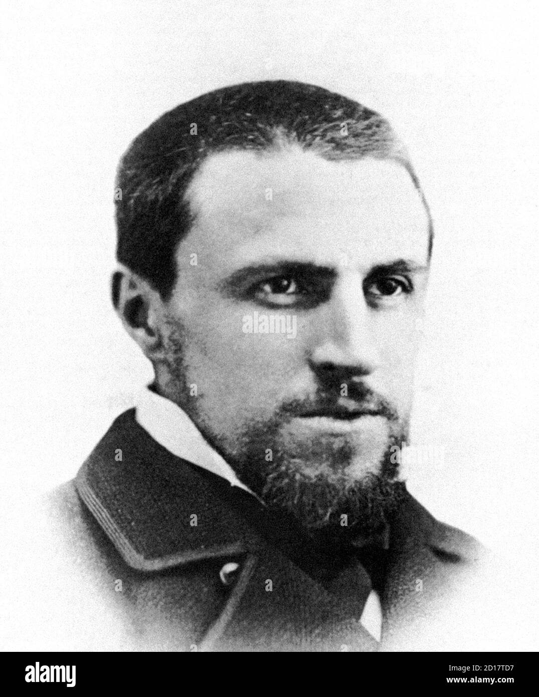 Gustave Caillebotte (1848-1894), portrait, c.1878 Stock Photo