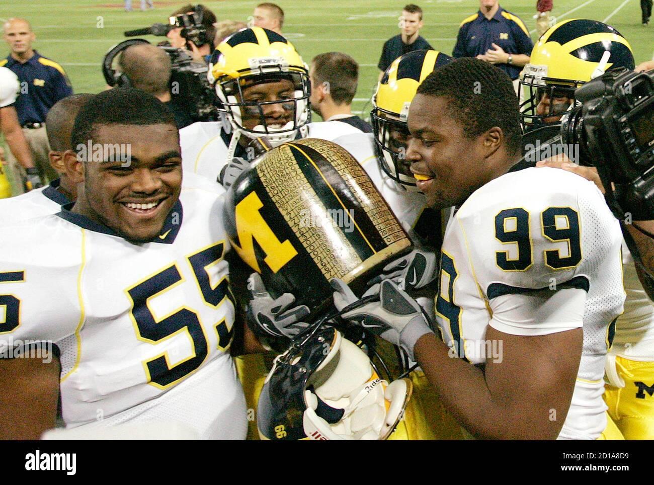 Brandon Graham Michigan Wolverines Football Jersey - Navy