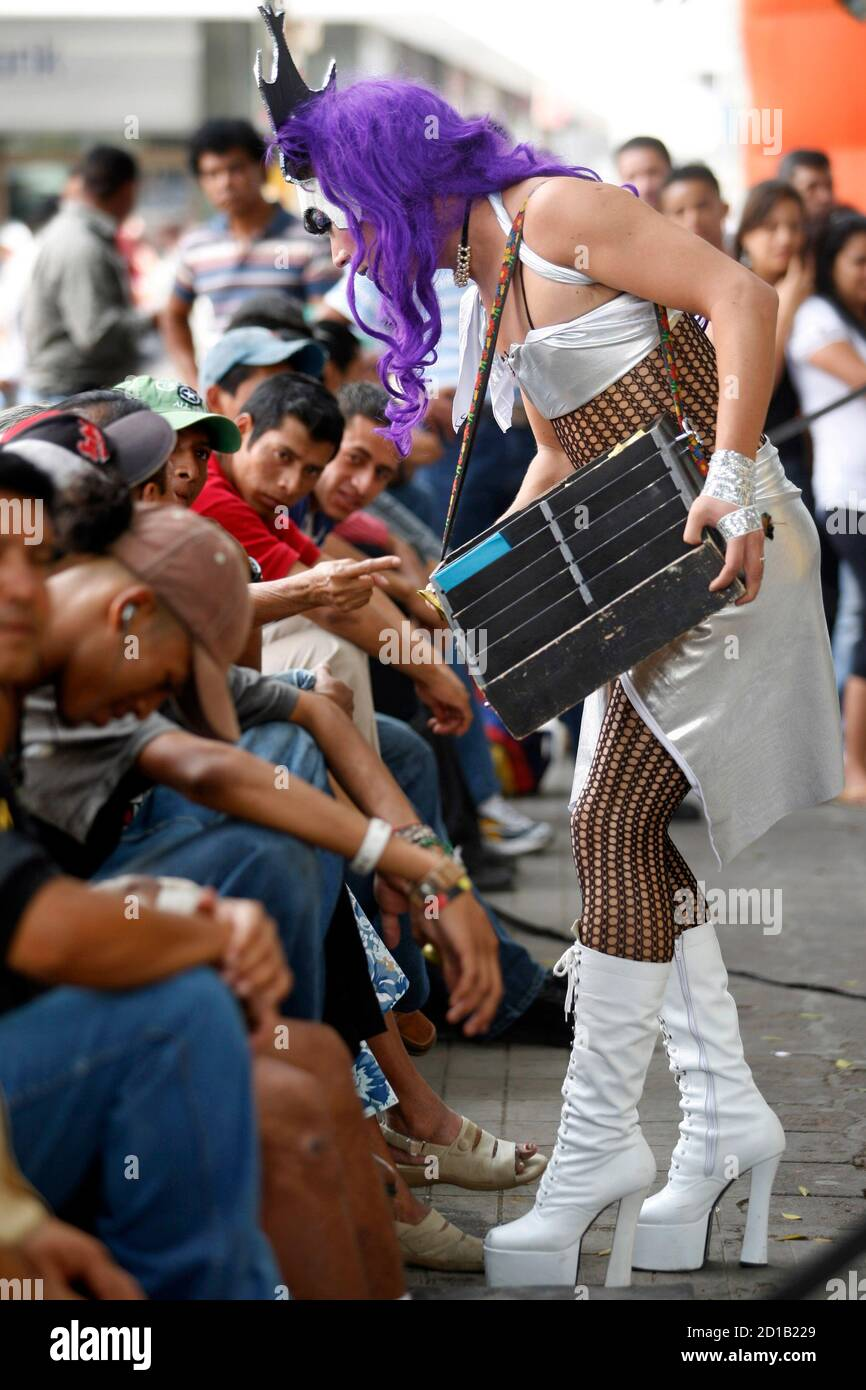 Mexican shemale pics Mexican Transsexual High Resolution Stock Photography And Images Alamy