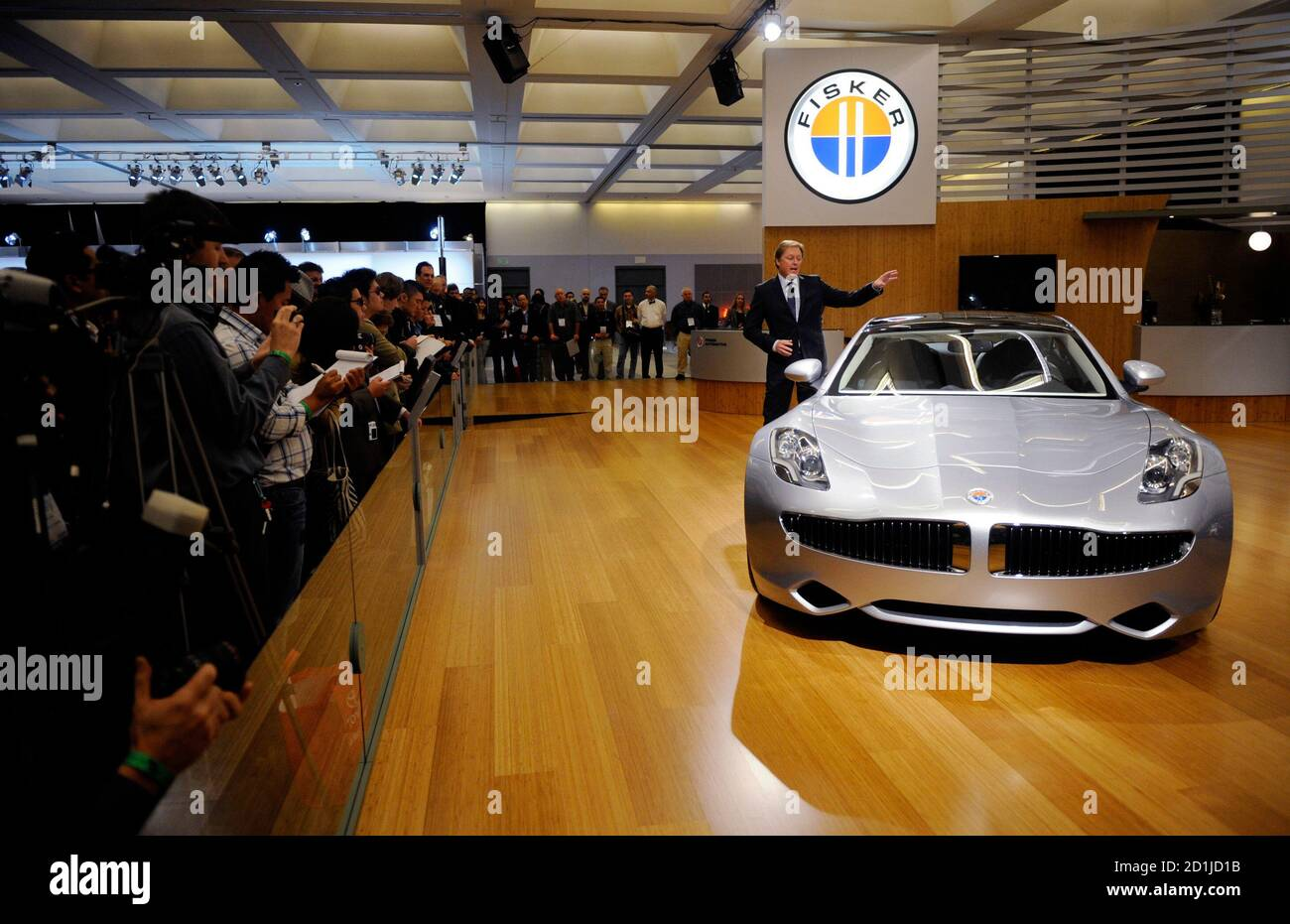 Henrik Fisker Founder And Ceo Of Fisker Automotive Talks About The Fisker Karma During A News Conference At The La Auto Show In Los Angeles December 3 2009 Reuters Phil Mccarten United States