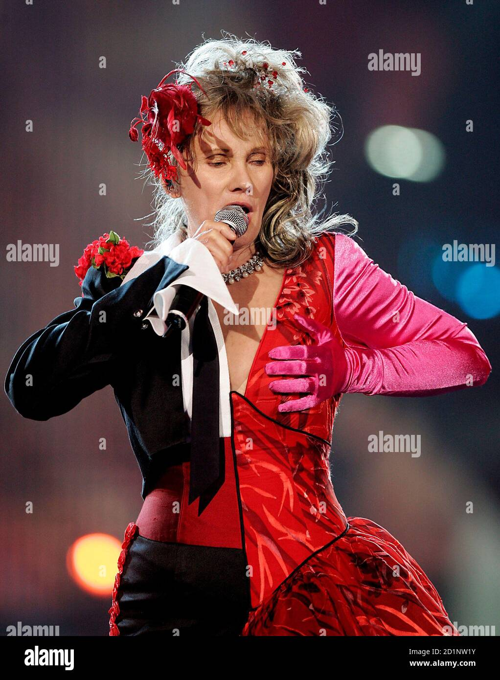 Transgender Singer High Resolution Stock Photography and
