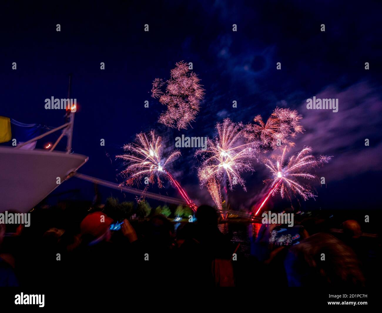 Big Firework Scene High Resolution Stock Photography And Images Alamy