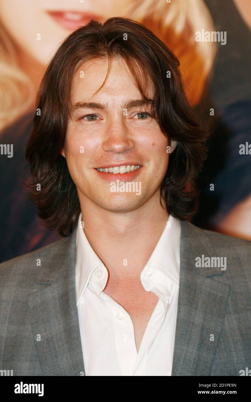 Actor Tom Wisdom arrives for the premiere of the film