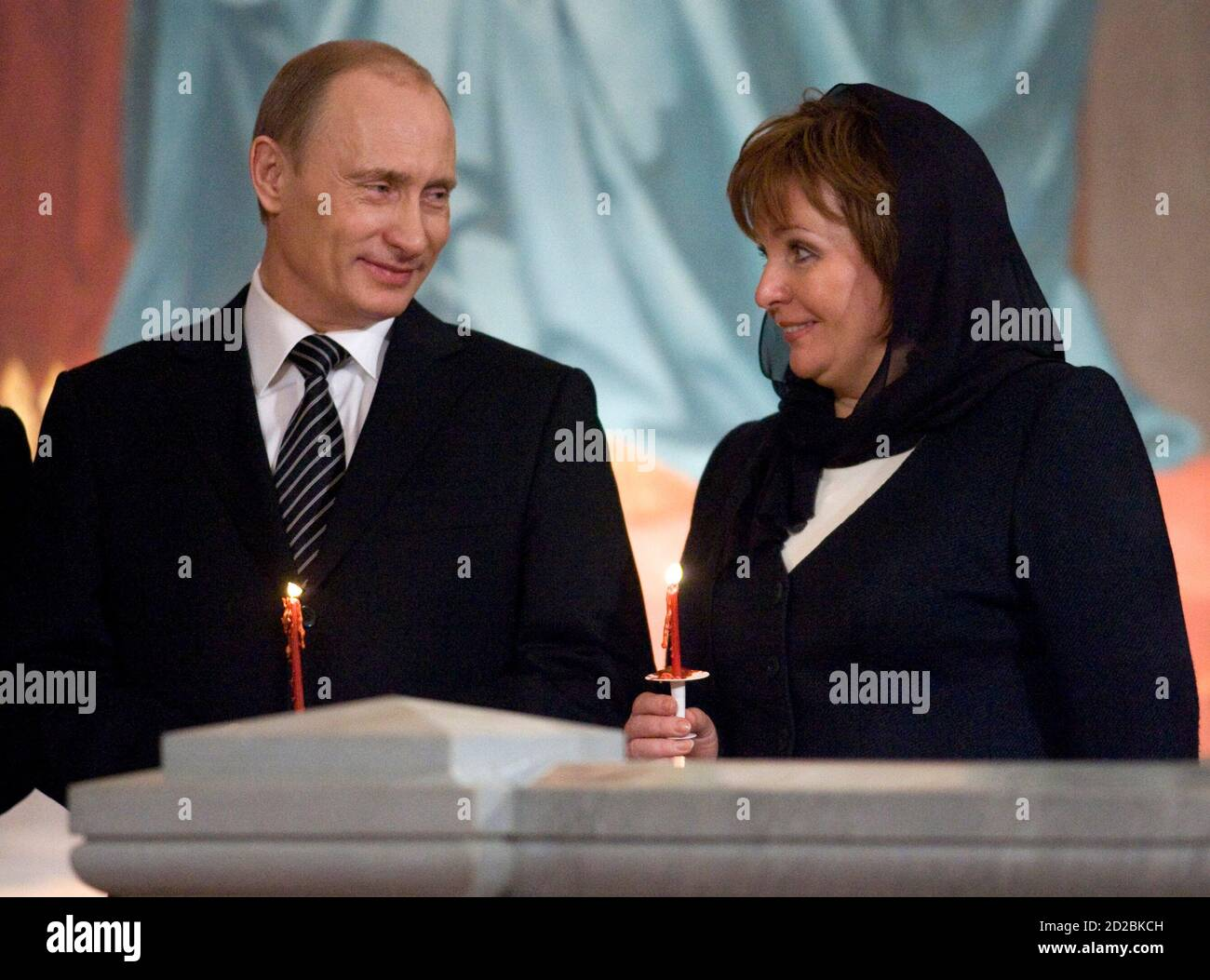 Russia President Vladimir Putin Wife High Resolution Stock Photography And Images Alamy