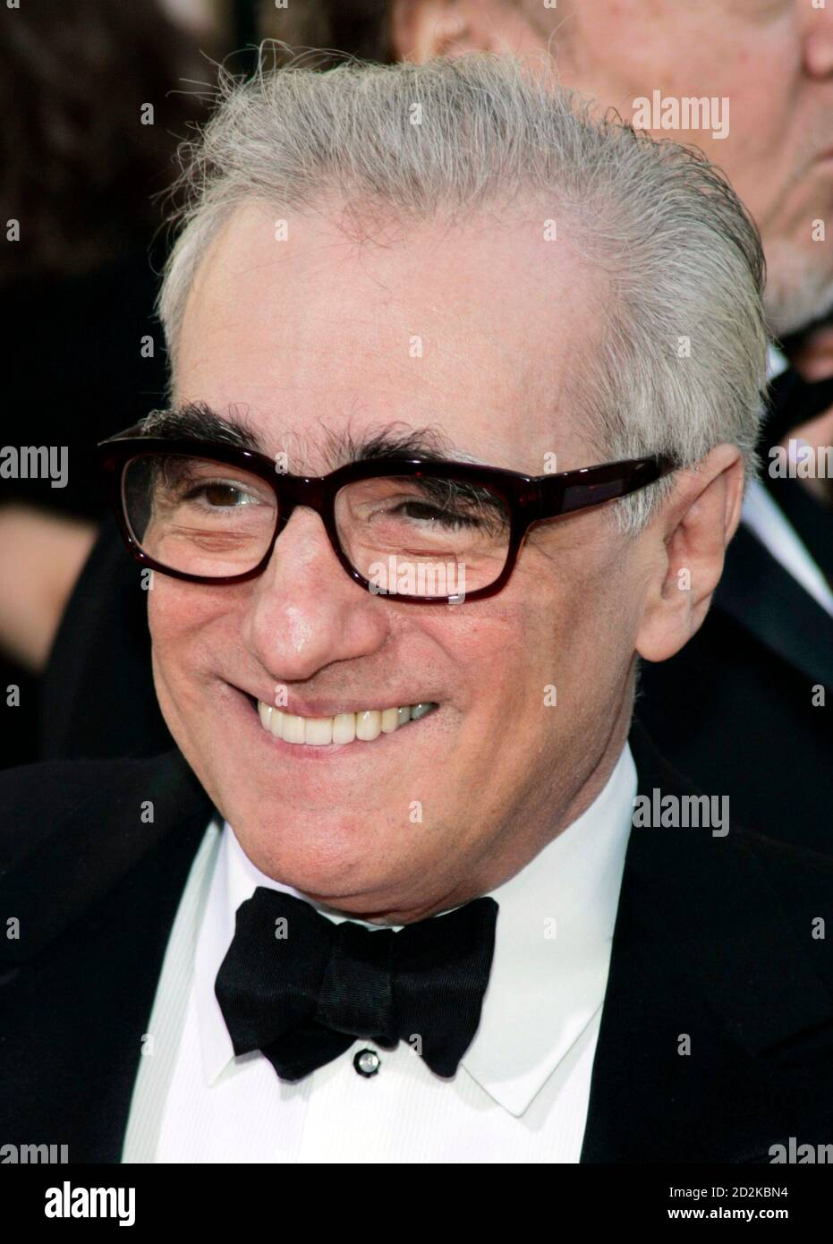 Director and nominee Martin Scorsese arrives at the 64th annual Golden Globe Awards in Beverly Hills, California January 15, 2007. Scorsese is nominated for best director - motion picture for 'The Departed.'     REUTERS/Lucy Nicholson (UNITED STATES) Stock Photo