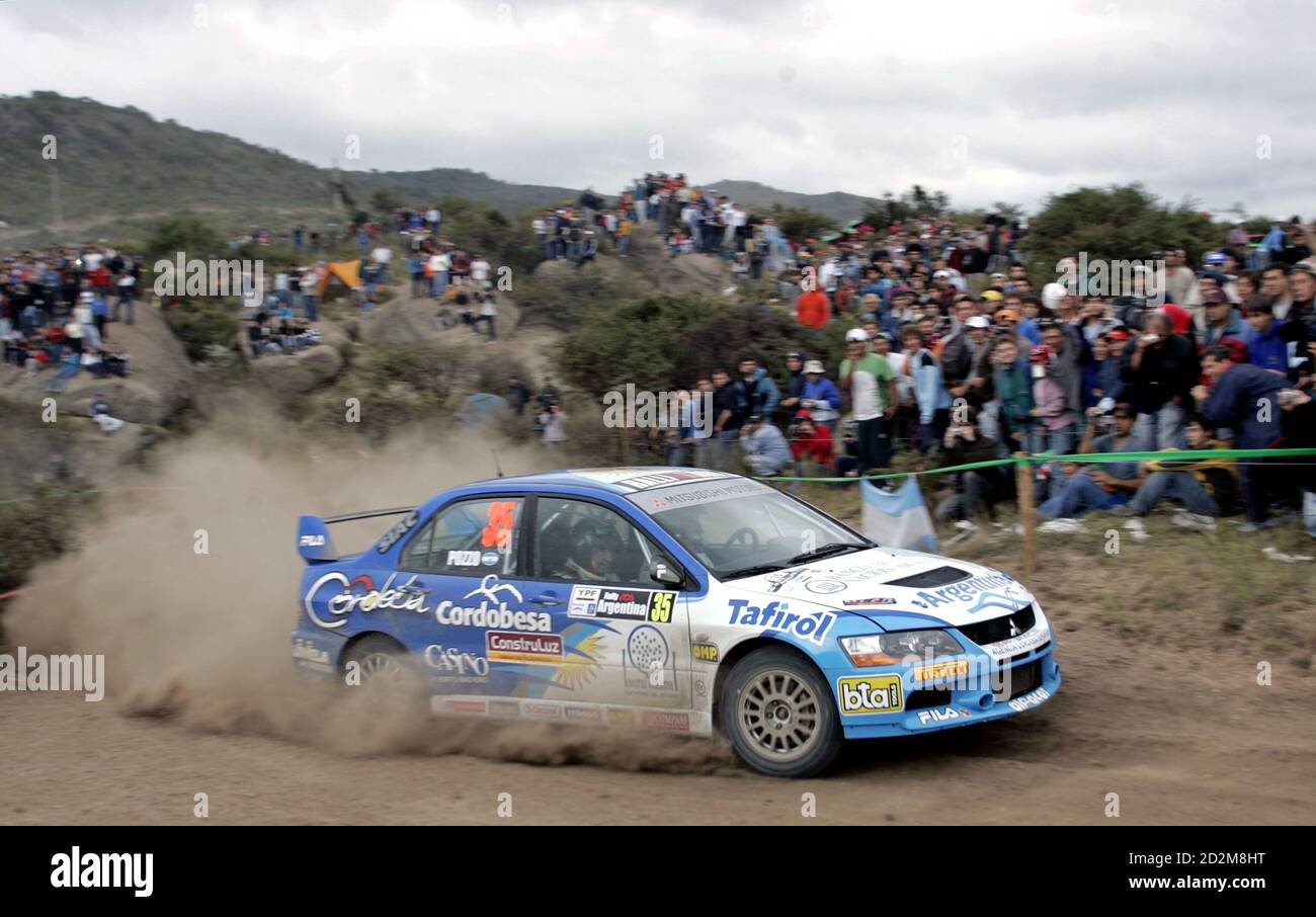 Mitsubishi Evo Rally Car In High Resolution Stock Photography And Images Alamy