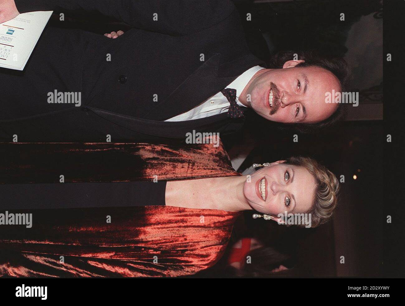 NEIL SHAKELL WITH HIS WIFE AND ACTRESS FIONA FULLERTON Stock Photo