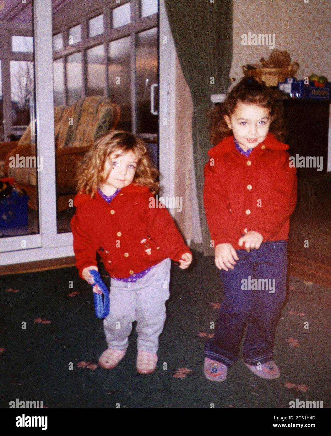 Yasmin Budancamanak, 2, and her sister Clare, 3, who Thurrock Council say were taken from their foster home in Thurrock, under threat of violence. It is believed they and their brother are in the company of their mother Sarah Barnes  and/or their father Murat Budancamanak.  *Their father it is thought has family links to Turkey. Essex Police have alerted ports around the country and are searching addresses connected with the couple.   Stock Photo