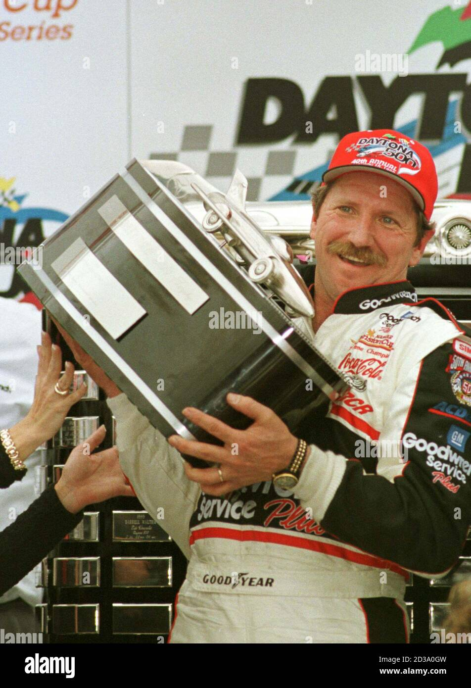 Nascar Motor Racing Legend Dale Earnhardt Died Of Injuries Resulting From A Last Lap Accident At Sunday S Daytona 500 February 18 2001 The 49 Year Old Earnhardt A Seven Time Nascar Winston Cup Champion Is Shown