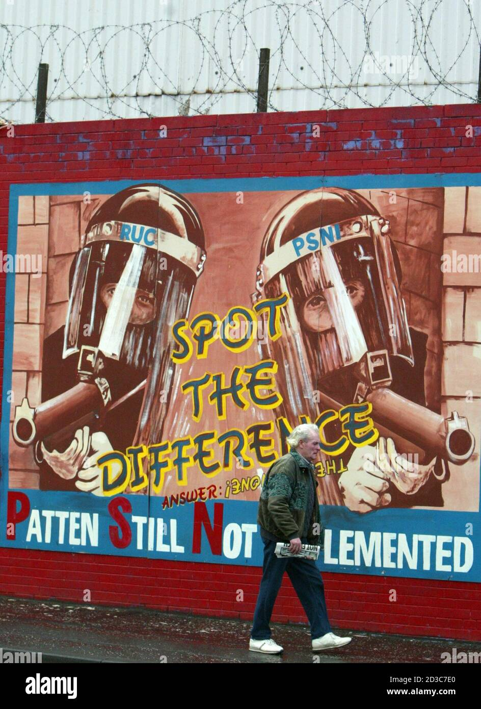 Irish Republican Mural High Resolution Stock Photography And Images Alamy