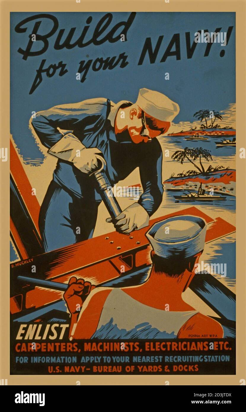 Navy Poster High Resolution Stock Photography And Images Alamy