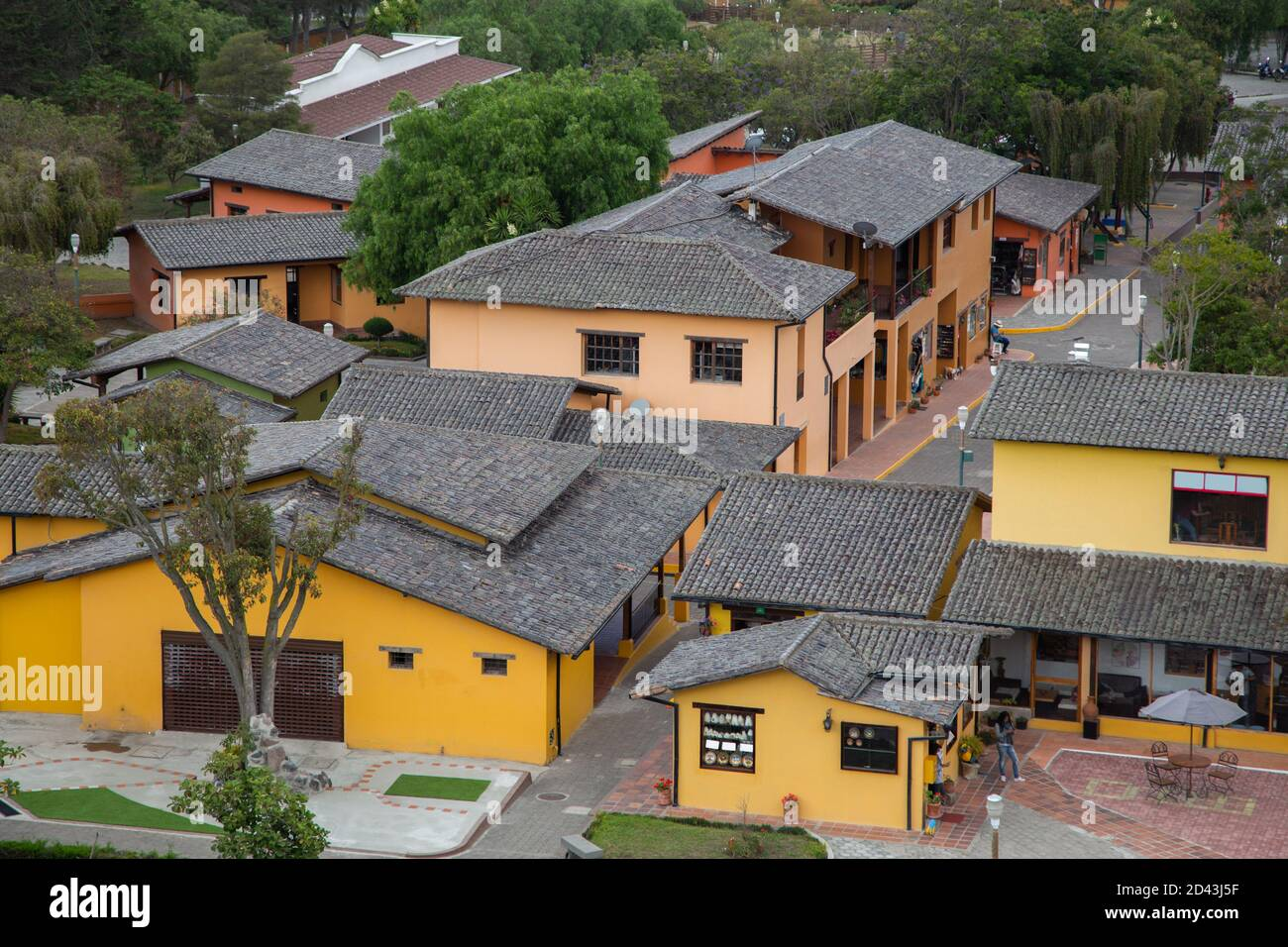 Black Tile Roof Village House High Resolution Stock Photography And Images Alamy
