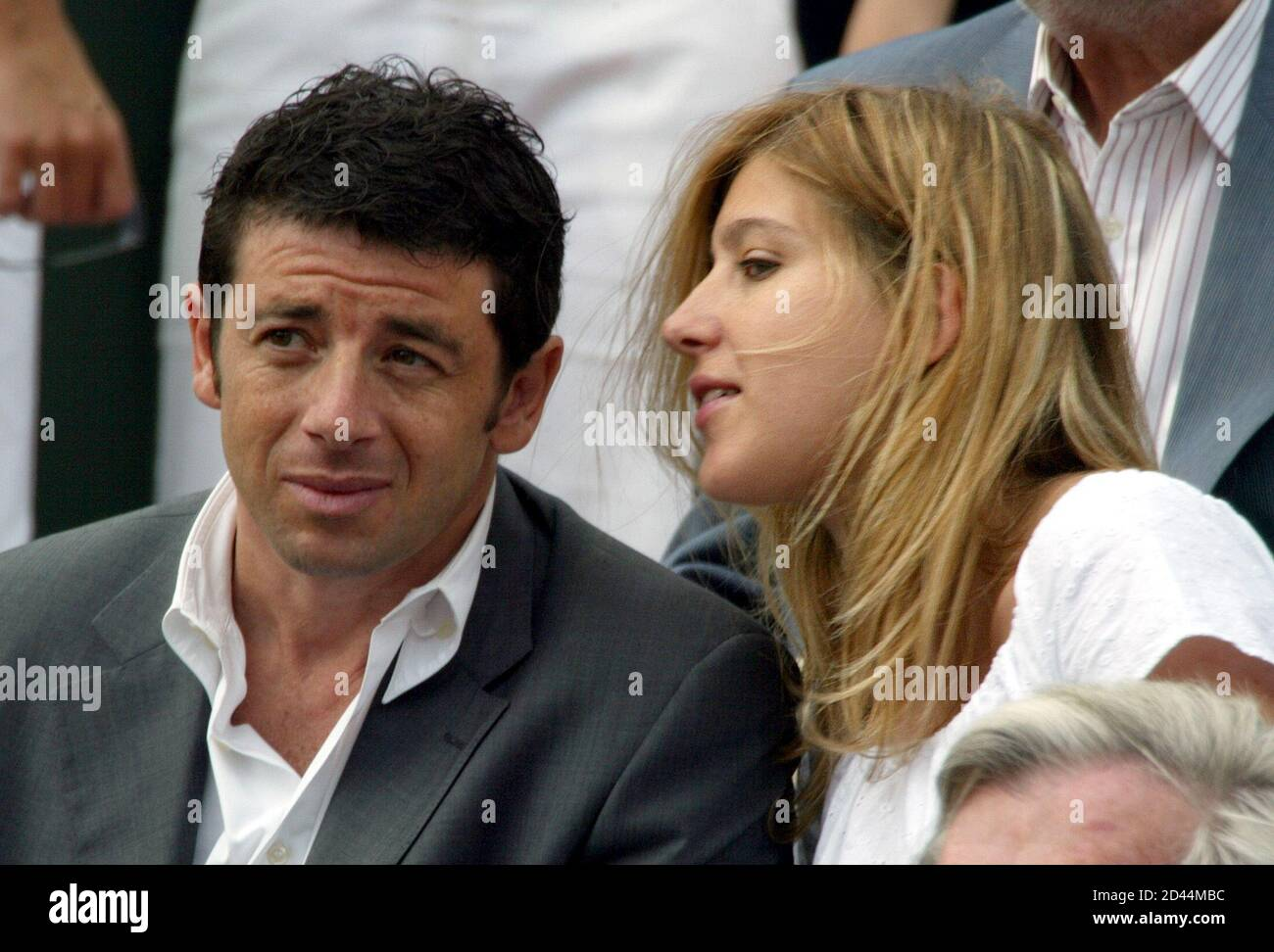 French Singer Patrick Bruel Wife High Resolution Stock Photography And Images Alamy